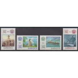 Barbade - 1988 - No 732/735