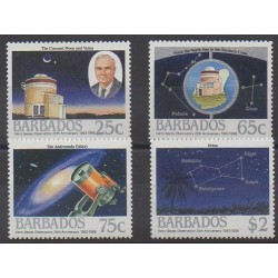 Barbade - 1988 - No 736/739 - Astronomie