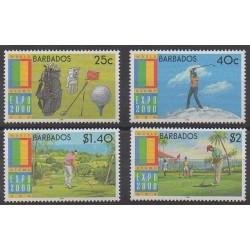 Barbade - 2000 - No 1035/1038 - Sports divers
