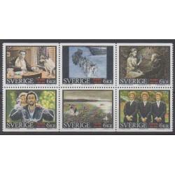 Sweden - 1995 - Nb 1882/1887 - Cinema