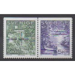 Suède - 1995 - No 1865/1866 - Tourisme