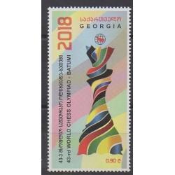 Georgia - 2018 - Nb 528 - Chess