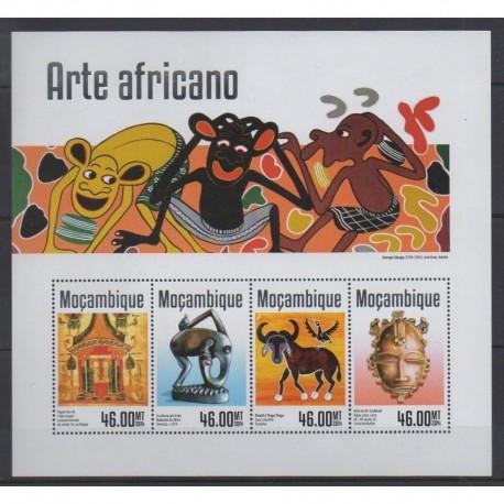 Mozambique - 2014 - Nb 6143/6146 - Art