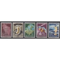 Yugoslavia - 1950 - Nb 549/553 - Chess