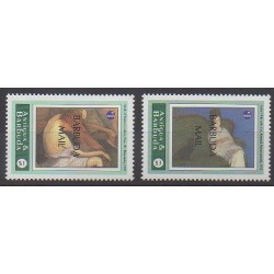 Barbuda - 1994 - Nb 1399/1400 - Paintings - Philately