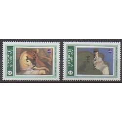 Barbuda - 1994 - No 1399/1400 - Peinture - Philatélie