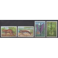 Barbuda - 1989 - No 1078/1081 - Animaux