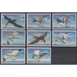 Barbuda - 1998 - No 1767/1774 - Oiseaux
