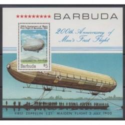 Barbuda - 1983 - No BF71 - Ballons - Dirigeables