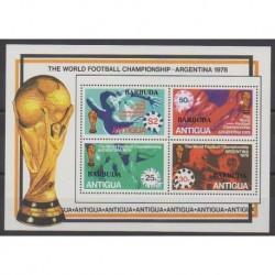 Barbuda - 1978 - No BF35 - Coupe du monde de football
