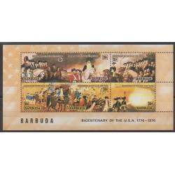 Barbuda - 1976 - No BF15 - Histoire