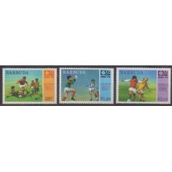 Barbuda - 1974 - Nb 165/167 - Soccer World Cup