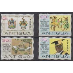 Barbuda - 1974 - Nb 136/139