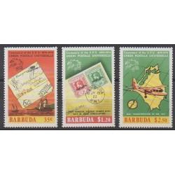 Barbuda - 1974 - No 172/174 - Service postal