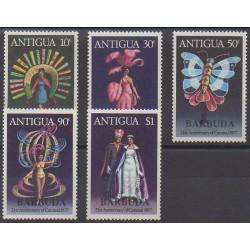 Barbuda - 1977 - No 320/324 - Masques ou carnaval