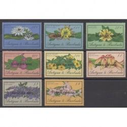 Barbuda - 1986 - No 836/843 - Fleurs