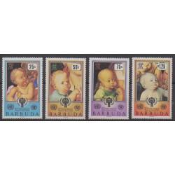 Barbuda - 1979 - No 449/452 - Enfance