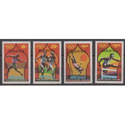 Barbuda - 1980 - No 457/460 - Jeux Olympiques d'été