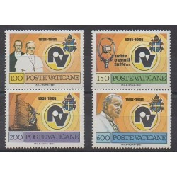 Vatican - 1981 - Nb 702/705 - Pope