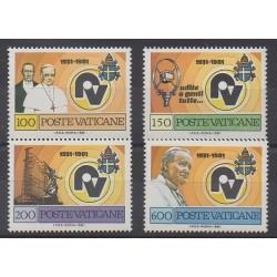 Vatican - 1981 - No 702/705 - Papauté