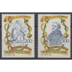 Vatican - 1981 - Nb 713/714 - Religion