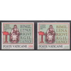 Vatican - 1981 - Nb 706/707 - Religion