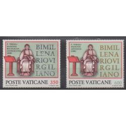 Vatican - 1981 - No 706/707 - Religion
