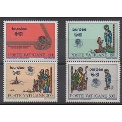 Vatican - 1981 - Nb 708/711 - Religion