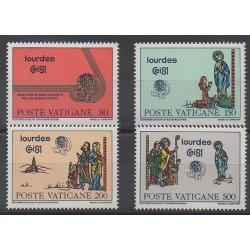 Vatican - 1981 - No 708/711 - Religion