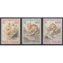 Vatican - 1982 - Nb 731/733 - Religion