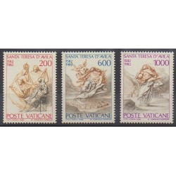 Vatican - 1982 - No 731/733 - Religion