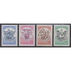 Vatican - 1983 - Nb 743/746 - Paintings