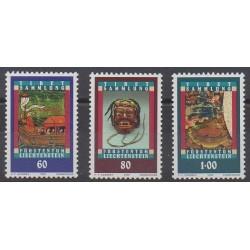 Liechtenstein - 1993 - No 1002/1004 - Art