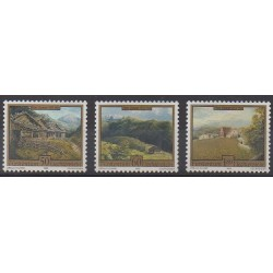 Liechtenstein - 1993 - No 997/999 - Peinture