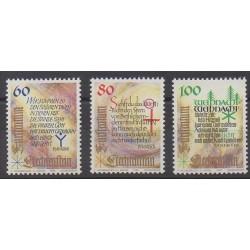 Liechtenstein - 1993 - No 1014/1016 - Noël