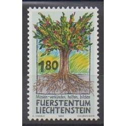 Liechtenstein - 1993 - No 1005 - Arbres