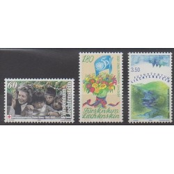 Lienchtentein - 1995 - Nb 1046/1048