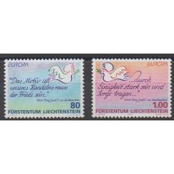 Lienchtentein - 1995 - Nb 1044/1045 - Europa