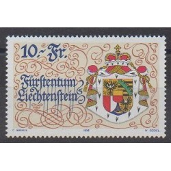 Lienchtentein - 1996 - Nb 1077 - Coats of arms