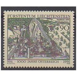 Lienchtentein - 1996 - Nb 1078 - Various Historics Themes