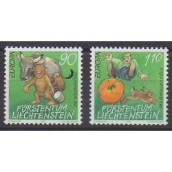 Lienchtentein - 1997 - Nb 1086/1087 - Literature - Europa
