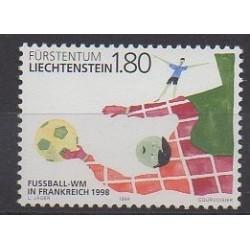 Liechtenstein - 1998 - No 1112 - Coupe du monde de football