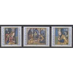 Lienchtentein - 1998 - Nb 1124/1126 - Christmas