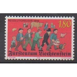 Lienchtentein - 1998 - Nb 1120 - Various Historics Themes