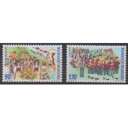 Lienchtentein - 1998 - Nb 1106/1107 - Folklore - Europa