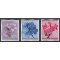Lienchtentein - 2013 - Nb 1620/1622 - Flowers