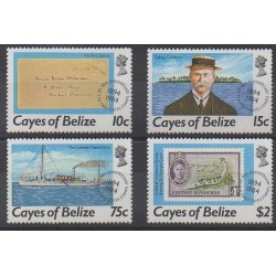 Belize - 1984 - 18/21 - Philately