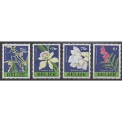 Belize - 1998 - Nb 1102/1105 - Orchids