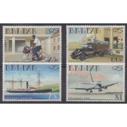Belize - 1999 - Nb 1110/1113 - Postal Service