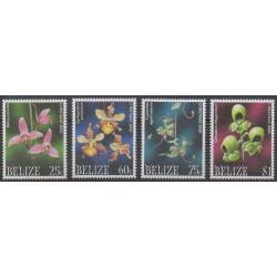Belize - 2000 - Nb 1139/1142 - Orchids